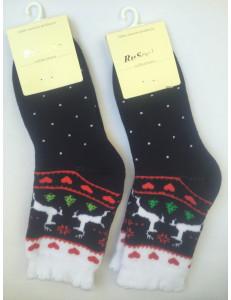 Носки детские теплые олени